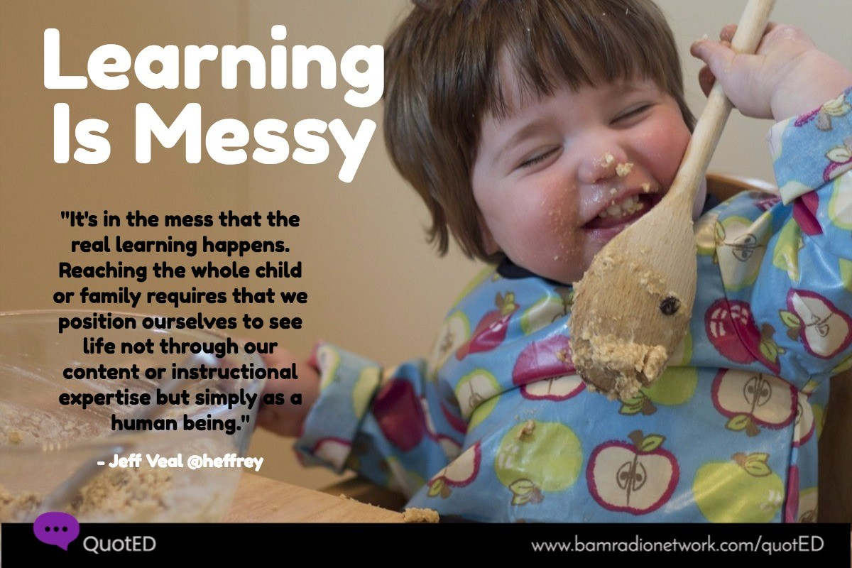 LearningIsMessy